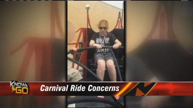 Carnival ride yanks little girl's hair, scalp off her head