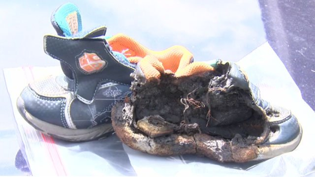 Family: Toddler's light-up shoes sparked fire inside SUV