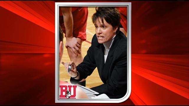 Boston University women's basketball coach Kelly Greenberg