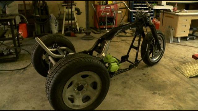 Bikes 4 Vets Project bike for injured vet